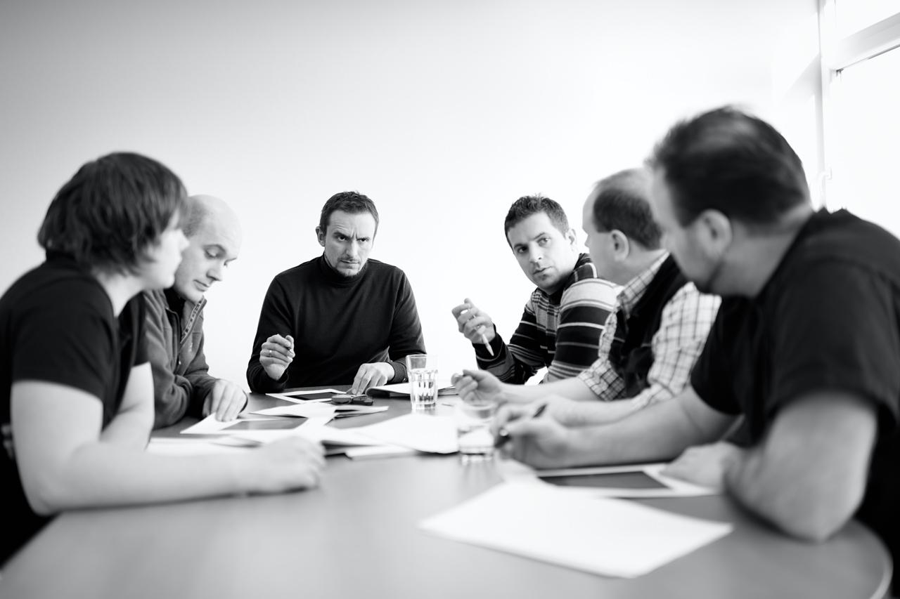 DP Solutions Firmen-Portrait Team-Sitzung